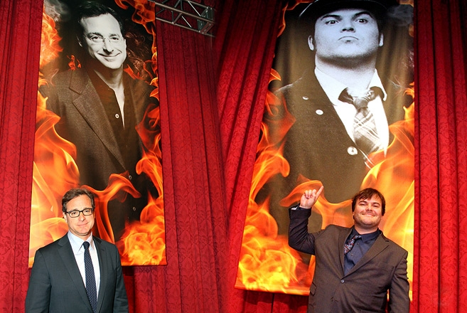 Event /PR/Photos/Signage Bob Saget & Jack Black